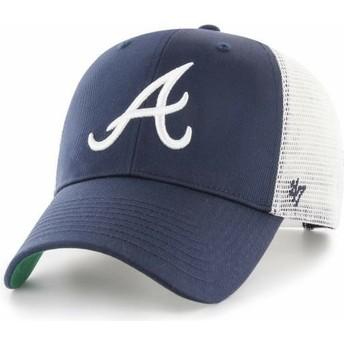Casquette trucker bleue marine Atlanta Braves MLB MVP Branson 47 Brand