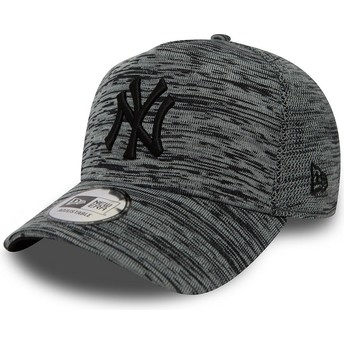 Casquette courbée grise effet marbre snapback New York Yankees MLB Engineered Fit A Frame New Era