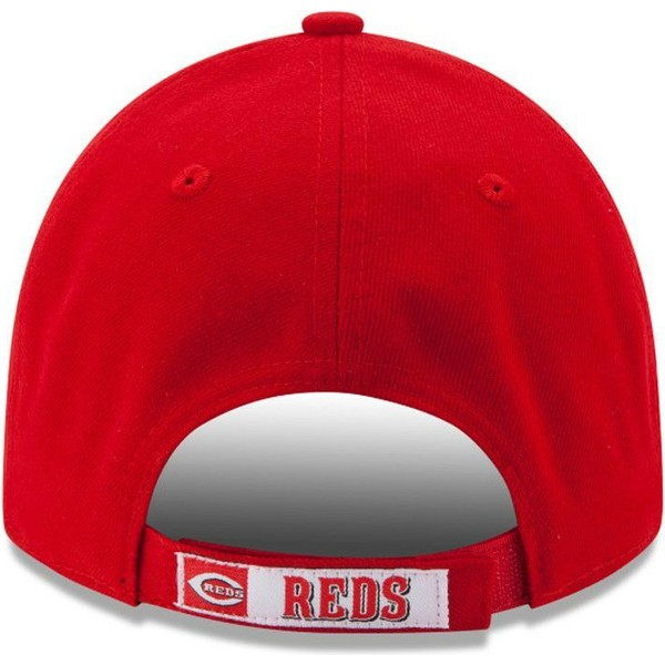 casquette-courbee-rouge-ajustable-9forty-the-league-cincinnati-reds-mlb-new-era