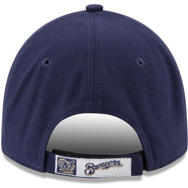 casquette-courbee-bleue-marine-ajustable-9forty-the-league-milwaukee-brewers-mlb-new-era