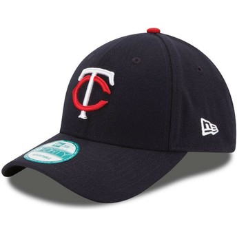 Casquette courbée bleue marine ajustable 9FORTY The League Minnesota Twins MLB New Era