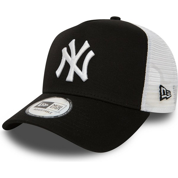 casquette-trucker-noire-clean-a-frame-2-new-york-yankees-mlb-new-era