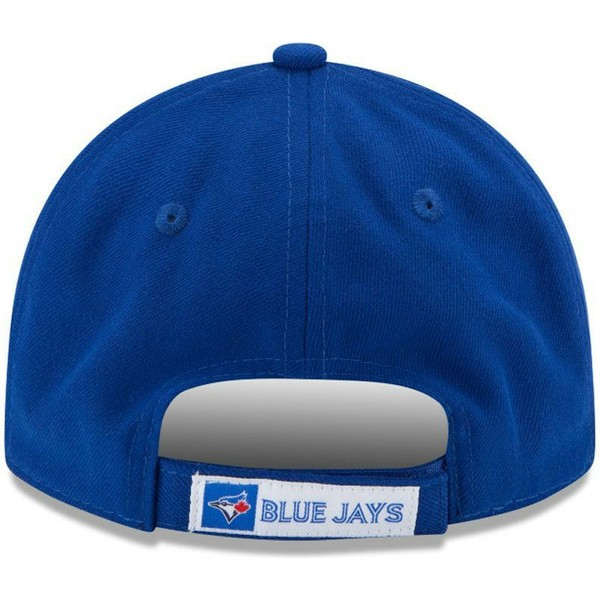 casquette-courbee-bleue-ajustable-9forty-the-league-toronto-blue-jays-mlb-new-era