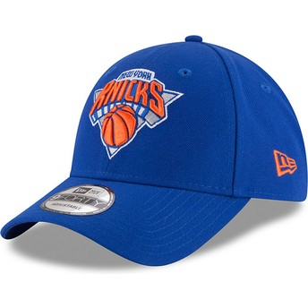 Casquette courbée bleue ajustable 9FORTY The League New York Knicks NBA New Era