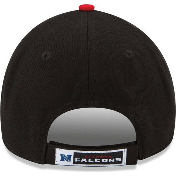 casquette-courbee-noire-ajustable-9forty-the-league-atlanta-falcons-nfl-new-era