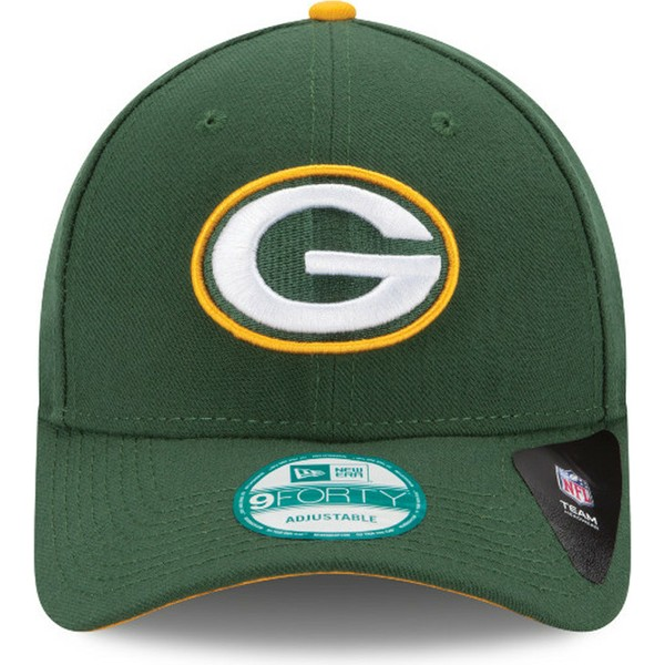 casquette-courbee-verte-ajustable-9forty-the-league-green-bay-packers-nfl-new-era