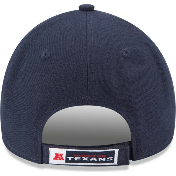 casquette-courbee-bleue-marine-ajustable-9forty-the-league-houston-texans-nfl-new-era