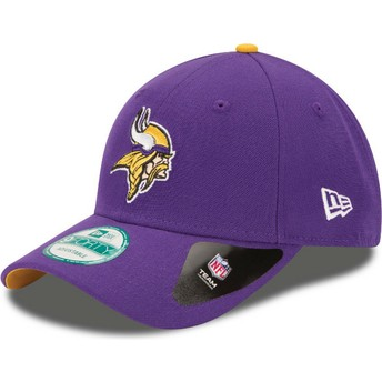 Casquette courbée violette ajustable 9FORTY The League Minnesota Vikings NFL New Era