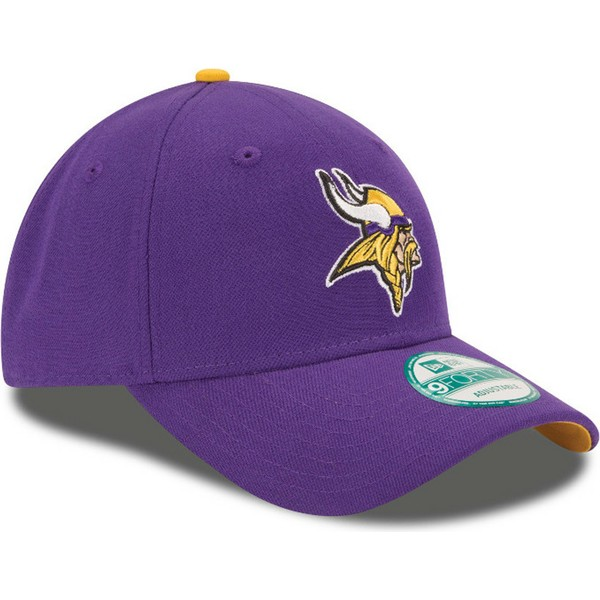 casquette-courbee-violette-ajustable-9forty-the-league-minnesota-vikings-nfl-new-era