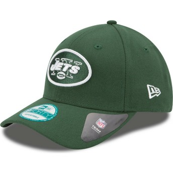 Casquette courbée verte ajustable 9FORTY The League New York Jets NFL New Era
