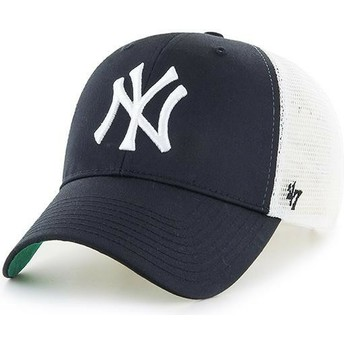 Casquette trucker noire pour enfant New York Yankees MLB MVP Branson 47 Brand