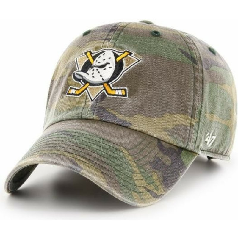 casquette-courbee-camouflage-ajustable-anaheim-ducks-nhl-clean-up-47-brand