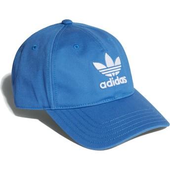 Casquette courbée bleue blubir ajustable Trefoil Classic Adidas