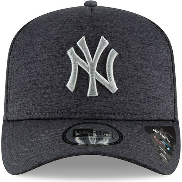casquette-courbee-noire-snapback-9forty-dry-switch-a-frame-new-york-yankees-mlb-new-era