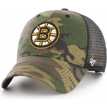 Casquette trucker camouflage Boston Bruins NHL MVP Branson 47 Brand