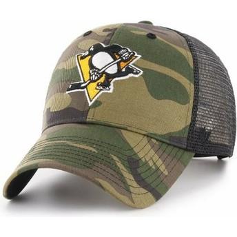 Casquette trucker camouflage Pittsburgh Penguins NHL MVP Branson 47 Brand