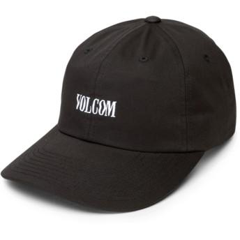 Casquette courbée noire ajustable Weave Black Volcom