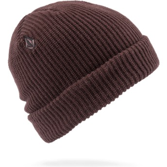 Bonnet grenat Full Stone Bordeaux Brown Volcom