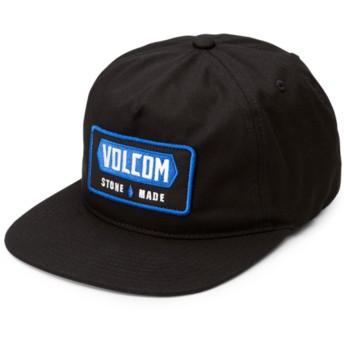 Casquette plate noire snapback Shop Black Volcom