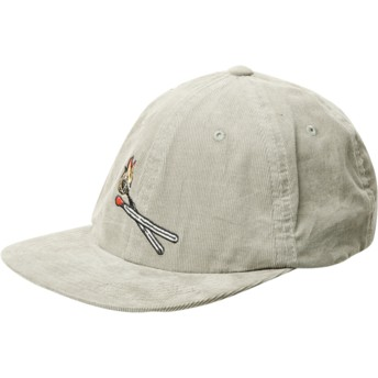 Casquette plate verte ajustable Majestic Dusty Green Volcom