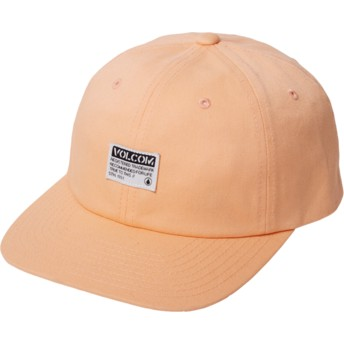 Casquette courbée orange ajustable Case Summer Orange Volcom