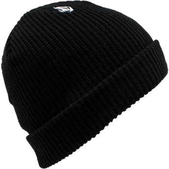 Bonnet noir pour enfant Full Stone Black Volcom