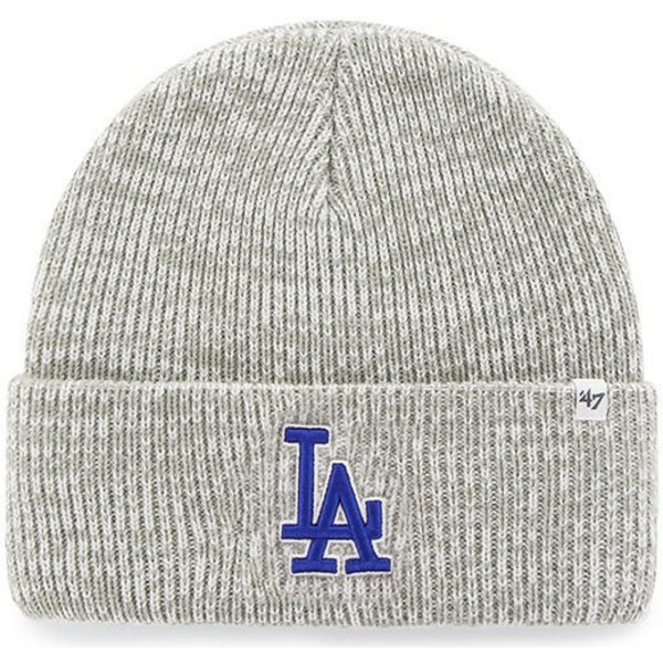 bonnet-gris-los-angeles-dodgers-mlb-cuff-knit-brain-freeze-47-brand