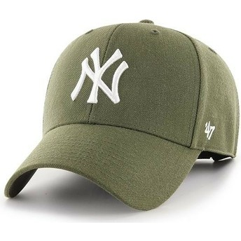 Casquette courbée marron New York Yankees MLB MVP 47 Brand