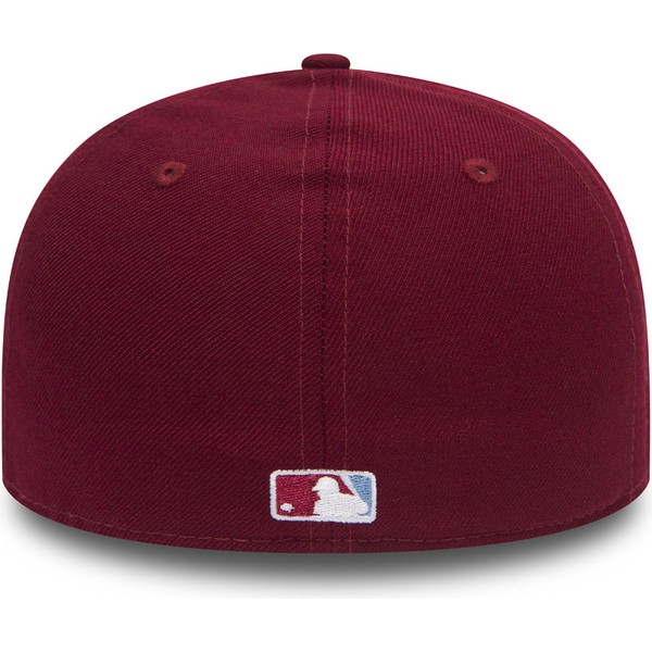 inégale en performance sélectionner pour véritable caractéristiques exceptionnelles Casquette courbée violette ajustée 59FIFTY Low Profile Mini Logo  Philadelphia Phillies MLB New Era