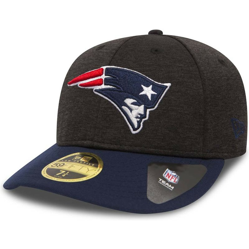 casquette-courbee-pierre-et-bleue-ajustee-59fifty-low-profile-shadow-tech-new-england-patriots-nfl-new-era