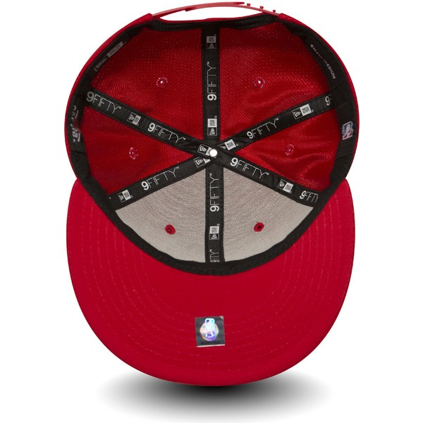 casquette-plate-rouge-snapback-9fifty-mesh-chicago-bulls-nba-new-era