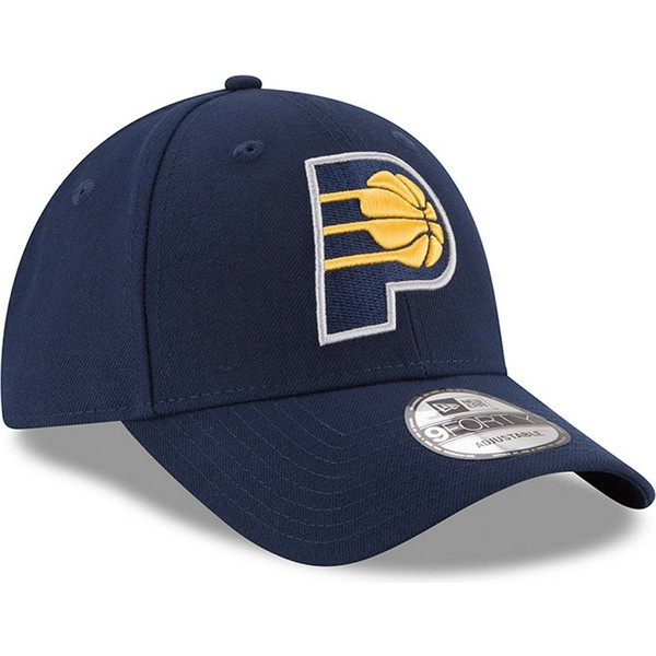 casquette-courbee-bleue-marine-ajustable-9forty-the-league-indiana-pacers-nba-new-era