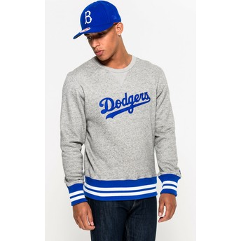 Sweat-shirt gris Crew Neck Heritage Brooklyn Dodgers MLB New Era