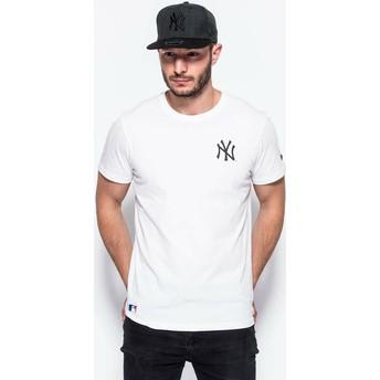 T-shirt à manche courte blanc East Coast Graphic New York Yankees MLB New Era