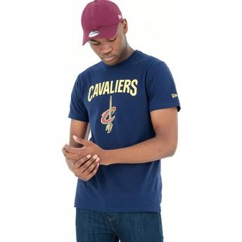 T-shirt à manche courte bleu Cleveland Cavaliers NBA New Era