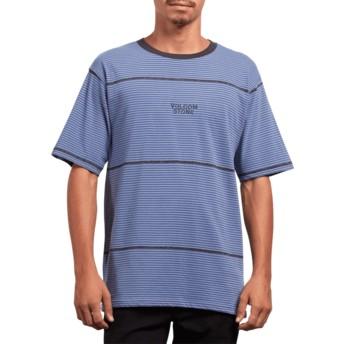 T-shirt à manche courte bleu Noa Noise Stone Blue Volcom