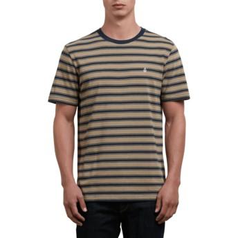 T-shirt à manche courte marron Briggs Sand Brown Volcom