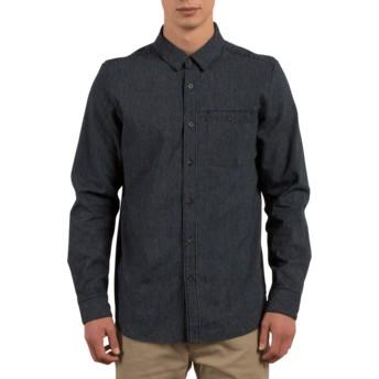 Chemise à manche longue bleue marine Crowley Indigo Volcom