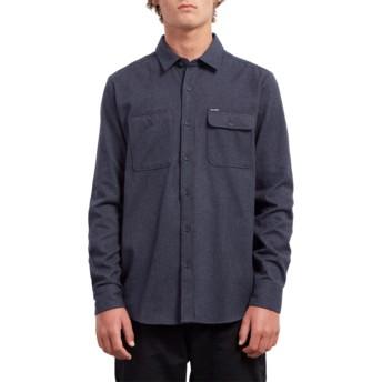 Chemise à manche longue bleue marine Hickson Update Midnight Blue Volcom