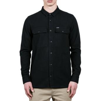 Chemise à manche longue noire Ketil Black Volcom