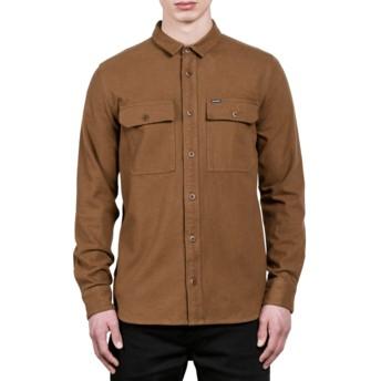 Chemise à manche longue marron Ketil Mud Volcom