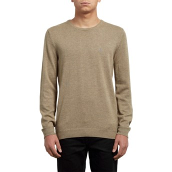 Pull marron Uperstand Sand Brown Volcom