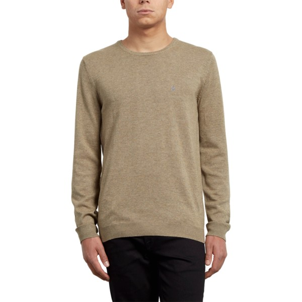 pull-marron-uperstand-sand-brown-volcom