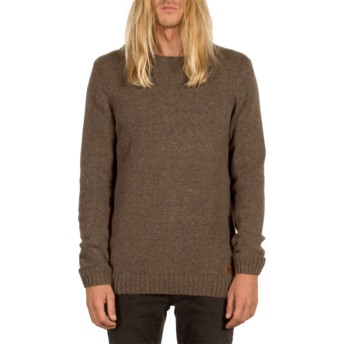 Pull marron Edmonder Stealth Volcom
