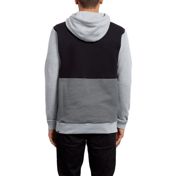 sweat-a-capuche-gris-et-noir-3zy-heather-grey-volcom