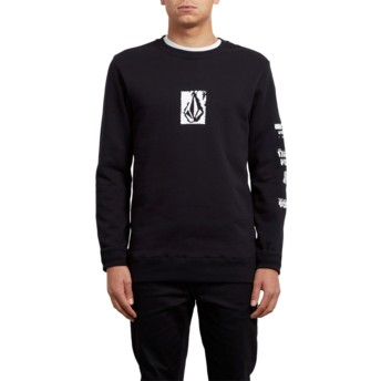 Sweat-shirt noir Supply Stone Black Volcom