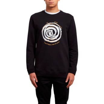 Sweat-shirt noir Reload Black Volcom