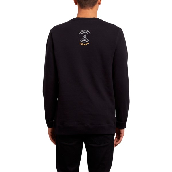 sweat-shirt-noir-reload-black-volcom