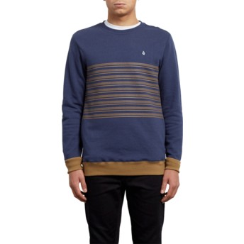 Sweat-shirt bleu Threezy Deep Blue Volcom