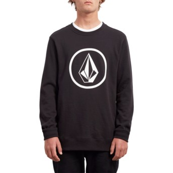 Sweat-shirt noir Stone Black Volcom